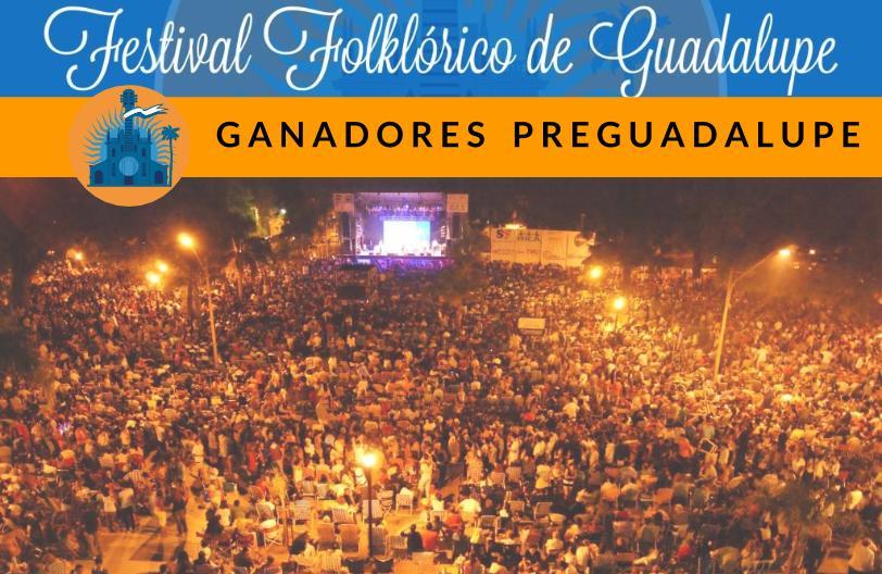 PARA FESTIVAL GUADALUPE_Ganadores Pre Guadalupe